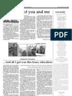 Imprint - June 1, 2007 - Opinion (pg 7,8)