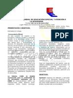 XII ENCUENTRO MUNDIAL DE EDUCACIÓN ESPECIAL Y ATENCIÓN A LA DIVERSIDAD (1)