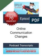 Online Communications