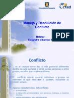 (2)Manejo de Conflictos