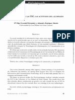 Psicopedagogía y las TICs- M.Escandell y A.Rodríguez