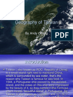 Geography of Taiwan