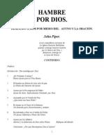 John Piper Hambre de Dios