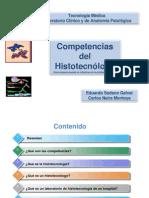 Competencias del histotecnologo para Congreso de Histotecnología 1