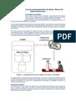 Conceitos  básicos de  armazenamento  de  dados.  Banco de Dados  Relacional.