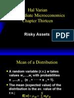 Risky Assets