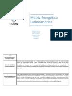 Matriz Energetica Seminario