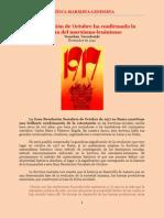Yaroslavski - La Revolución de Octubre ha Confirmado la Justeza del Marxismo-Leninismo (1942)