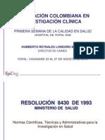 10 14 Regulacion Investigacion Salud