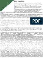 Reseña Histórica de la UNTECS