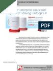 Big Data Technology on Red Hat Enterprise Linux