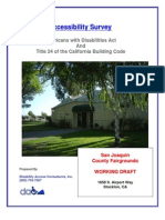 San Joaquin County Fairgrounds - ADA Accessibility Report