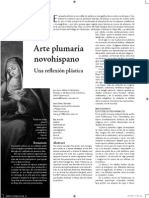 Arte plumario de la Nueva España