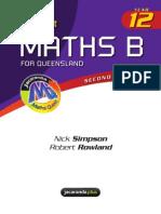 Year 12 Mathematics B