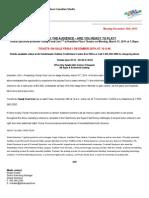 Sample Media Release - Family Feud Live - Global Spectrum (Internship Work)