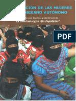 Participación de las mujeres en el gobierno autónomo - cuaderno de texto - Primer grado de La libertad según l@s Zapatistas