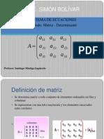 Ppt Matriz y Determinante