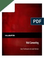 Halliburton Cementing