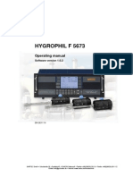 Hygrophil f 5673 Manual
