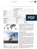 Introduction of  Petroleum & Crude Oil