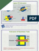 Seamless Tube Extrusion