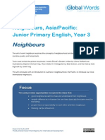 GlobalWords Neighbours JPY3print