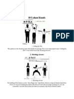 Shaolin 18 Lohan Hands