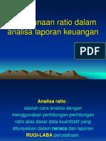 Penggunaan Ratio Dalam Analisa Laporan Keuangan