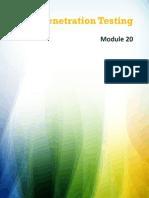 EC-Council - CEHv8 Module 20 Penetration Testing Slide 2013