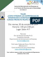 Competencias de Informacion en UPRB