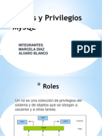 Roles y Privilegios MySQL