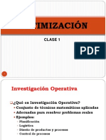 Clase 1 Introduccion Optimizacion USS