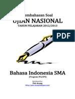 Pembahasan Soal UN Bahasa Indonesia SMA 2013