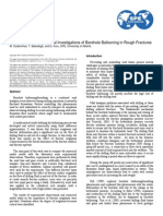 SPE-110121-MS-P Experimental and Numerical Investigations of the Borehole Ballooning in Rough Fractures