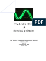 Health Effects of Emf Pollution