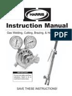 Harris Gas Cutting Welding Manual
