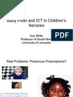 Sue White - Baby Peter Presentation