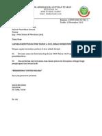 Surat Iringan Keputusan UPSR Bekas Pemulihan Khas