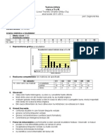Analiza testelor X Inspektorátus