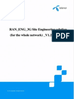 RAN_ENG_3G Site Engineering Solution(for the Whole Network)_V1.2_20140123