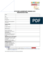 Registration Form - IfLA 2012