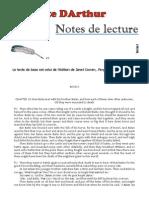 """""""Le Morte DArthur"""" : Notes de lecture ; volet 45"""