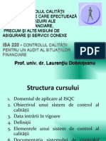 ISQC1 ISA220