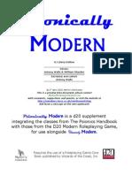 Psionically Modern