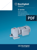 S-series Single Stage Gear Motors