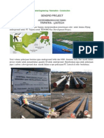Tripatra Senoro Lintech LSF Website Update (Installation Piping Line)