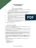 Covalent Bonding Complete SMTP