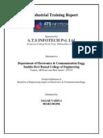 ATS INFOTECH Training Report