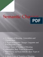 Semantic Changes(5)