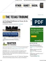 As Fracking Proliferates in Texas, So Do Disposal Wells _ the Texas Tribune